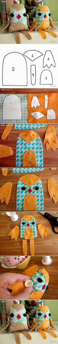 DIY Fabric Bird Toy DIY Projects | UsefulDIY.com