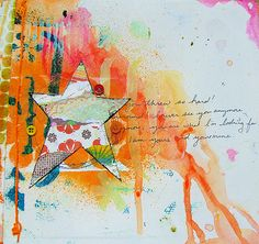 by Ms. Natty - Art Journaling Tumblr