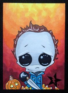 Sugar Fueled Michael Myers Halloween Horror by Sugarfueledart Horror Drawing, Horror Art, Horror Icons, Drawing Drawing, Drawing Reference, Dibujos Tumblr A Color, Horror Monsters, Goth Art, Creepy Art