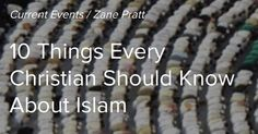 [PART 1 of 4]: Islam is a fast-growing religion especially in the Western world. Christians increasingly need to be aware of Islam and most importantly how to engage its adherents with the gospel of Jesus Christ.  1. Muslim and Arab are not the same thing. Muslim is a religious term. A Muslim is someone who adheres to the religion of Islam. Arab on the contrary is an ethno-linguistic term. An Arab is a member of the people group who speak the Arabic language. It is true that Islam…