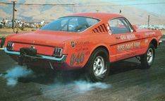"""Official factory statement on the 1965 A/FX Mustang: """"A 1965 Mustang automobile to be used in drag strip events sold to the individual for the sum of one dollar… It is further understood that said 1965 Mustang automobile will be used for drag strip racing only, and shall not be used as a passenger car on public highways. Accordingly we make no warranty whatsoever either express or implied, including any warranty of fitness or merchantability in connection of the sale of this vehicle to you."""""""