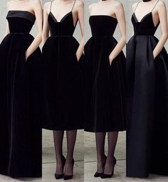 """Black dresses by Alex Perry."""