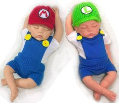56 Best Ideas For Crochet Baby Outfits Twins Baby Kostüm, Twin Baby Boys, Twin Babies, Twins, Twin Baby Clothes, Unique Baby Clothes, Twin Baby Photography, Newborn Photography Props, Crochet Baby Costumes