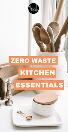 Want some essential zero waste kitchen items? Wondering how to reduce plastic in the kitchen? Check out this ultimate list of zero waste swaps for a zero garbage kitchen. waste living home Essential Zero Waste Kitchen Items for Everyday Use Food Storage, Kitchen Storage, Storage Ideas, Bea Johnson Zero Waste, Plastik Recycling, Home Deco, Layout Design, Waste Reduction, Kitchen Waste