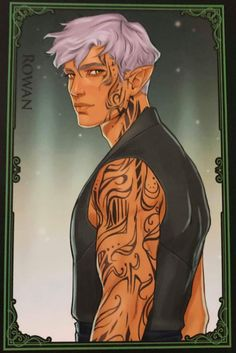 Rowan Whitethorn (Embers of Memory Card Game) Throne Of Glass Fanart, Throne Of Glass Books, Throne Of Glass Series, Book Characters, Fantasy Characters, Fictional Characters, Fan Art, Queen Of Shadows, Crown Of Midnight
