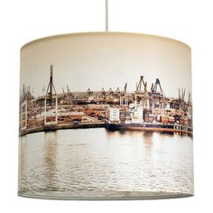 """Hamburg Containerhafen"" Lamp Shades, Container, Lighting, Design, Home Decor, Collection, Products, Colors, New Looks"