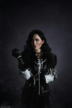Candy as Yennefer of Vengerberg photo by me The Witcher - Yennefer Yennefer Witcher, Yennefer Cosplay, Yennefer Of Vengerberg, Witcher Art, Fantasy Costumes, Anime Costumes, Cosplay Costumes, Epic Costumes, The Witcher Wild Hunt