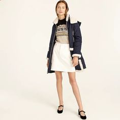 J.Crew: Snow Day Puffer Jacket With PrimaLoft® For Women