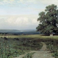 Ivan Shishkin, distesa (1883)