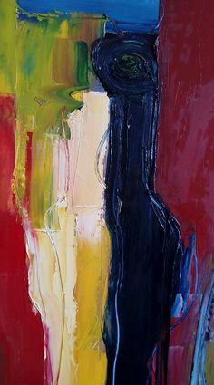 detalhe de uma pintura. 80 cm x 1.40 m.