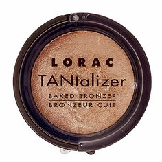 LORAC TANtalizer® Baked Bronzer I dust this on like a contour/blush mix when I have color over my BB cream and it gives a really pretty look
