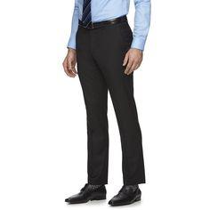 Men's Marc Anthony® Slim-Fit Suit Pants, Size: 33X32, Black