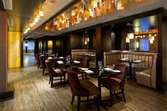 Habitat Restaurant at Grande Rockies Resort, Canmore AB - winner of Open Tables 2015 Diners' Choice Award. Open Table, Diners, Restaurant Bar, Luxury, Centre, Tables, Home Decor, Restaurants, Mesas