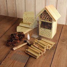 Hôtel à insectes : eux aussi peuvent faire de la coloc sur notre balcon !