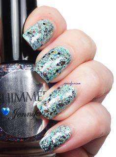 Shimmer Polish Jennifer XoxoJen