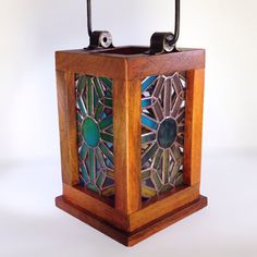 Radiance Stained Glass Lantern