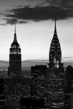 Empire and Chrysler Building