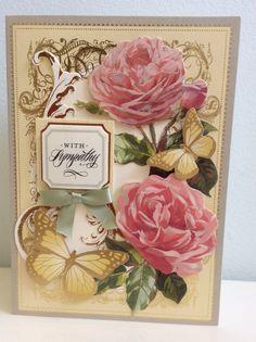 2015 Anna Griffin Garden Window Card Kit, butterfly is Martha Stewart sticker