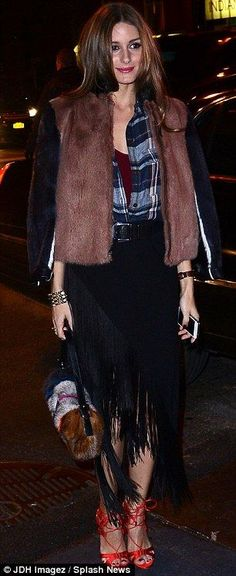 Olivia Palermo at the 2013 Victoria's Secret Fashion Show Afterparty