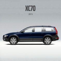 2015 Volvo XC70 Station Wagon Volvo Xc, Volvo Cars, Station Wagon, Sweden, Automobile, Advertising, Boards, Blue, Planks