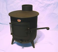 BEAUTIFUL! Cooper Classic Pot belly wood burning stove HANDMADE