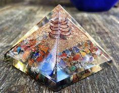 Chakra mezclado Orgone piedra cristal sanación Reiki por Yasailu