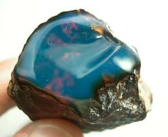 Blue amber, only found in the Dominican   Republic