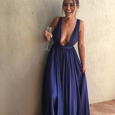Formal Prom Dresses, A-Line Deep V-Neck Sweep Train Backless Navy Blue Stretch Satin Prom Dress Whether you prefer short prom dresses, long prom gowns, or high-low dresses for prom, find your ideal prom dress for 2020 Navy Blue Prom Dresses, Elegant Bridesmaid Dresses, Prom Dresses For Teens, Long Prom Gowns, Backless Prom Dresses, A Line Prom Dresses, Tulle Prom Dress, Sexy Dresses, Dress Long