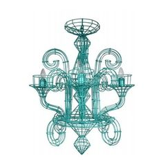 fenton & fenton Wire Chandelier - They are available in a wide range of colours. This is the small size, teal chandelier with four lamps. Globes not included! If you have questions or a particular colour scheme to work around, call or email us! Dimensions: 60cm widest point, 80cm from top to base. Availability: In stock $1,500.00 © 2010 Fenton & Fenton. All Rights Reserved