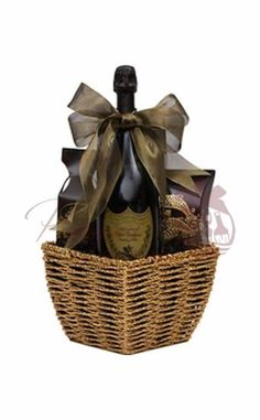 Champagne Gift Basket Champagne Gift Baskets, Wine Gift Baskets, Send Birthday Gifts, Wine
