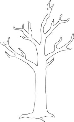 Autumn / Fall Preschool No Prep Worksheets & Activities Bird Template, Tree Templates, Autumn Art, Autumn Trees, Craft Stick Crafts, Preschool Crafts, Fall Preschool, Art Drawings For Kids, Art For Kids