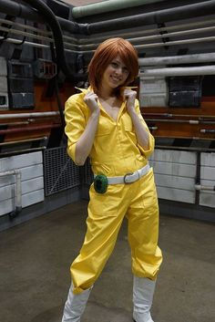 April O'neil cosplay from Teenage Mutant Ninja Turtles. (This is how April should look like!)
