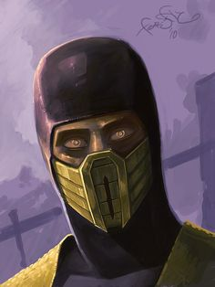 Scorpion from Mortal Kombat in the GA-HQ Video Game Character DB Scorpion Mortal Kombat, Mortal Kombat X, Mortal Kombat Video Game, Predator Alien, The Evil Within, King Of Fighters, Video Game Characters, Dark Souls, Techno