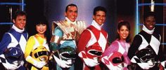 Power Rangers!!! ♥