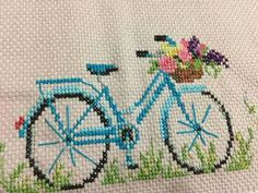 This Pin was discovered by Zhy Cross Stitching, Cross Stitch Embroidery, Embroidery Patterns, Hand Embroidery, Crochet Patterns, Cross Stitch Designs, Cross Stitch Patterns, Needlepoint, Needlework