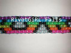 Glitter Rainbow Leopard Print Kandi Belt