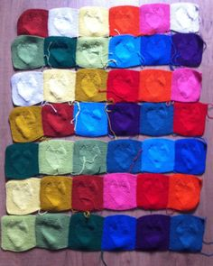 Bringing It All Together!  The Love Hearts Blanket by Jane Ellison @Purl&Jane