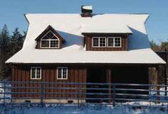 Pennypincher Barn Company specializes in providing good quality small house kits. Small Cottages, Small Houses, Small House Kits, Barn Kits, Barn Storage, Timber Frame Homes, Horse Barns, Horses, Cabin Homes