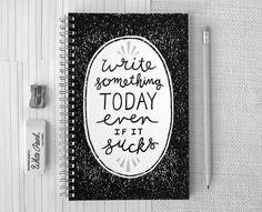 Afbeelding via We Heart It #notebook