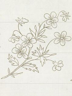 Papatya.. Embroidery Pattern. jwt