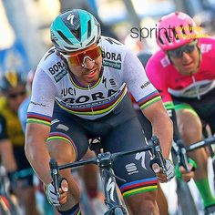 Peter Sagan didn't wins stage 6 of Tirreno Adriatico but he surely had the most impressive ride @bettiniphoto @lucabettini87