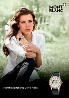 Charlotte for South African company, Montblanc