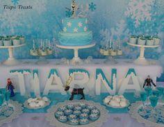 Cumpleaos Frozen Fiesta frozen Frozen party and Fiestas