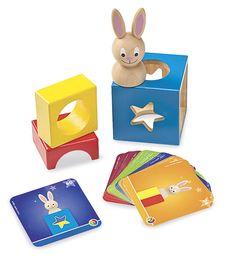 Peek-a-Boo Bunny Game