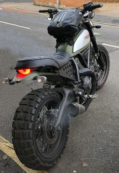 "in the album ""Dark aggressive urban enduro"" by DCasserly Ducati Scrambler Urban Enduro, Ducati Motorcycles, Custom Motorcycles, Custom Bikes, Cars And Motorcycles, Custom Cafe Racer, Cafe Racer Bikes, Moto Bike, Motorcycle Bike"