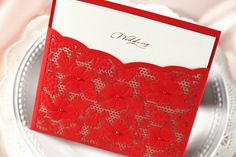 Lace Wedding Invitations-Best Choice for Vintage and Rustic Weddings