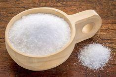 Salz gegen Ölflecken
