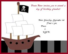 Pirate Party - Decorations