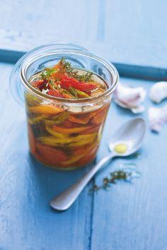 Recette tomates confites à l'huile d'olive - Marie Claire