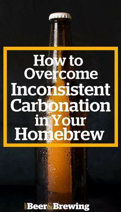 How to Overcome Inconsistent Bottle Carbonation Brew Recipes Brewing Recipes, Homebrew Recipes, Beer Recipes, Coffee Recipes, Home Brewery, Home Brewing Beer, Brew Your Own Beer, Home Brewing Equipment, Homemade Beer